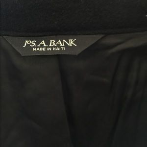 Jos. A. Bank Jackets & Coats - Jos. A. banks wool Pea Coat 38R black